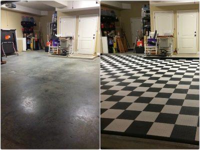 garage floor tiles interlocking