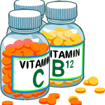 vitamin bottles healthy vegan