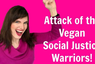 vegan social justice warrior
