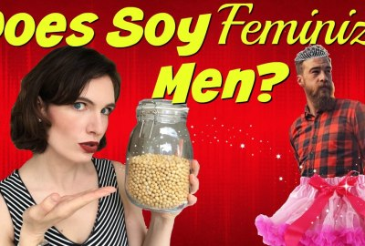 does soy feminize men modvegan
