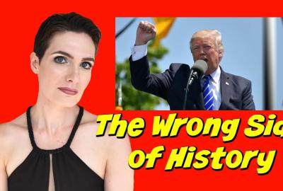 trump charlottesville wrong side of history ModVegan