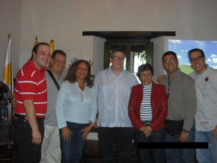 Coordinadores de la Delegación MOEA de la Universidad Simón Bolívar