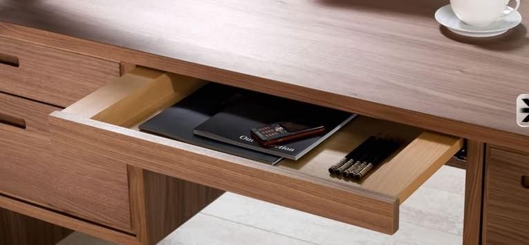 Schreibtisch Mit Schubladen Schreibtisch Gudbjerg 60x120