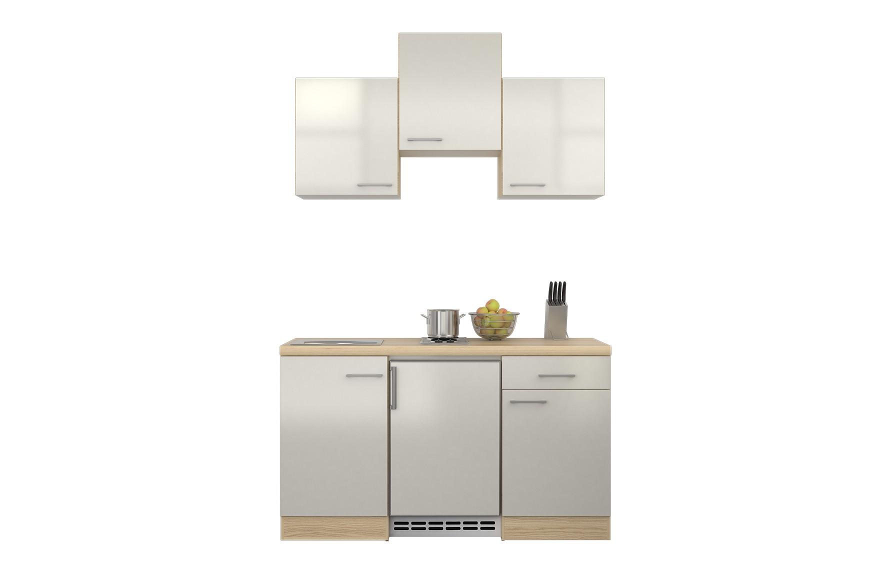 Miniküche Mit Kühlschrank Ohne Kochfeld : Miniküche mit ceranfeld und kühlschrank edelstahl miniküche