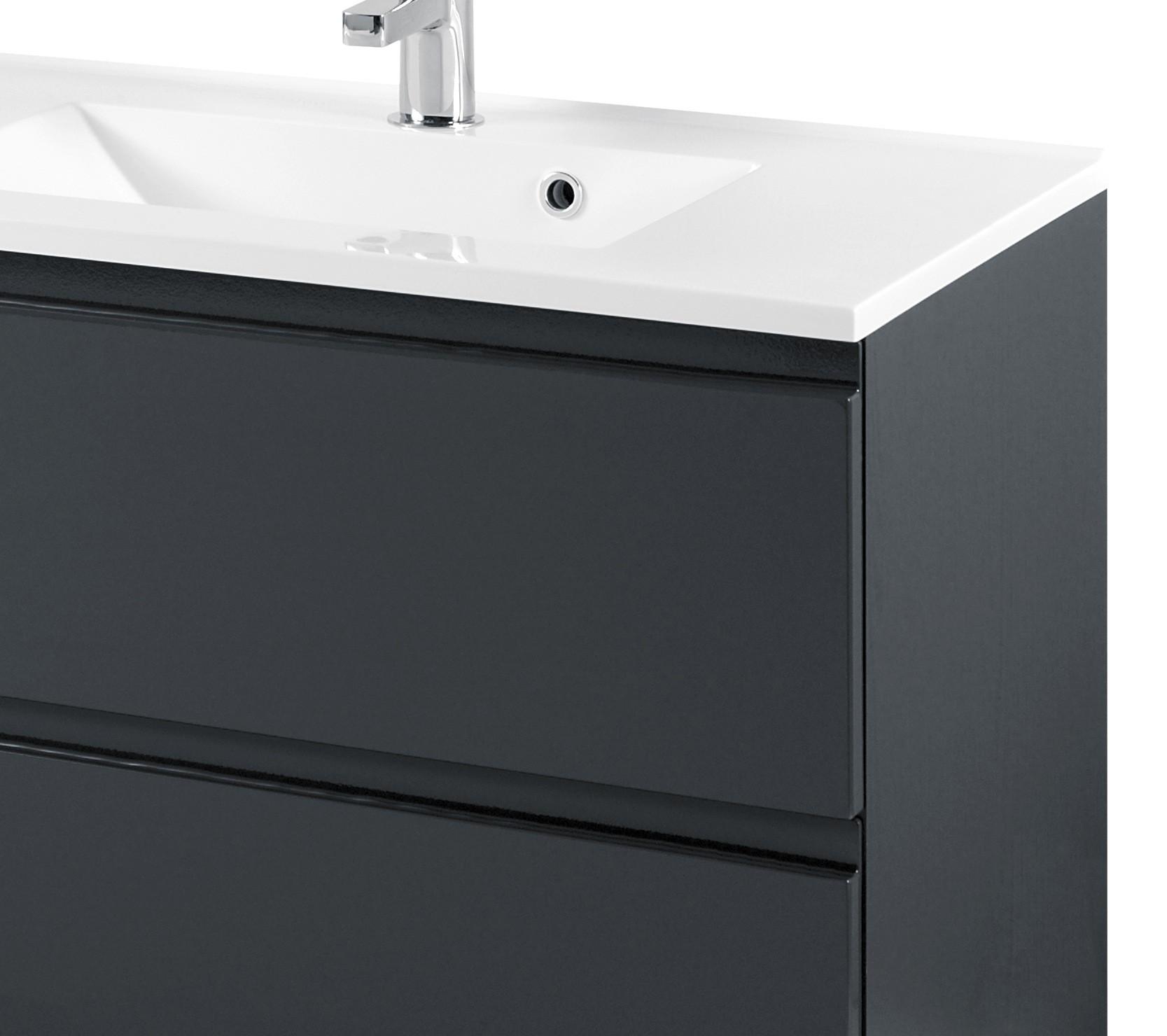 Waschtisch Badezimmer Hohe Aufsatzwaschbecken Waschbecken Terrazzo