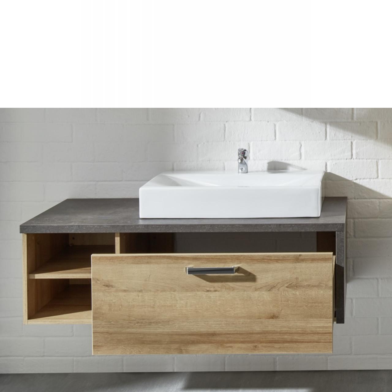 Aufsatzwaschbecken Mit Unterschrank   Waschtisch holz Einkaufen