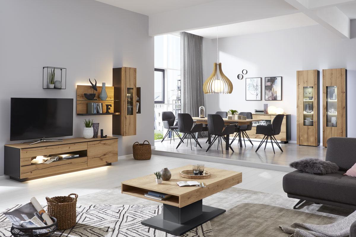 Interliving Wohnzimmer  Möbel Janz