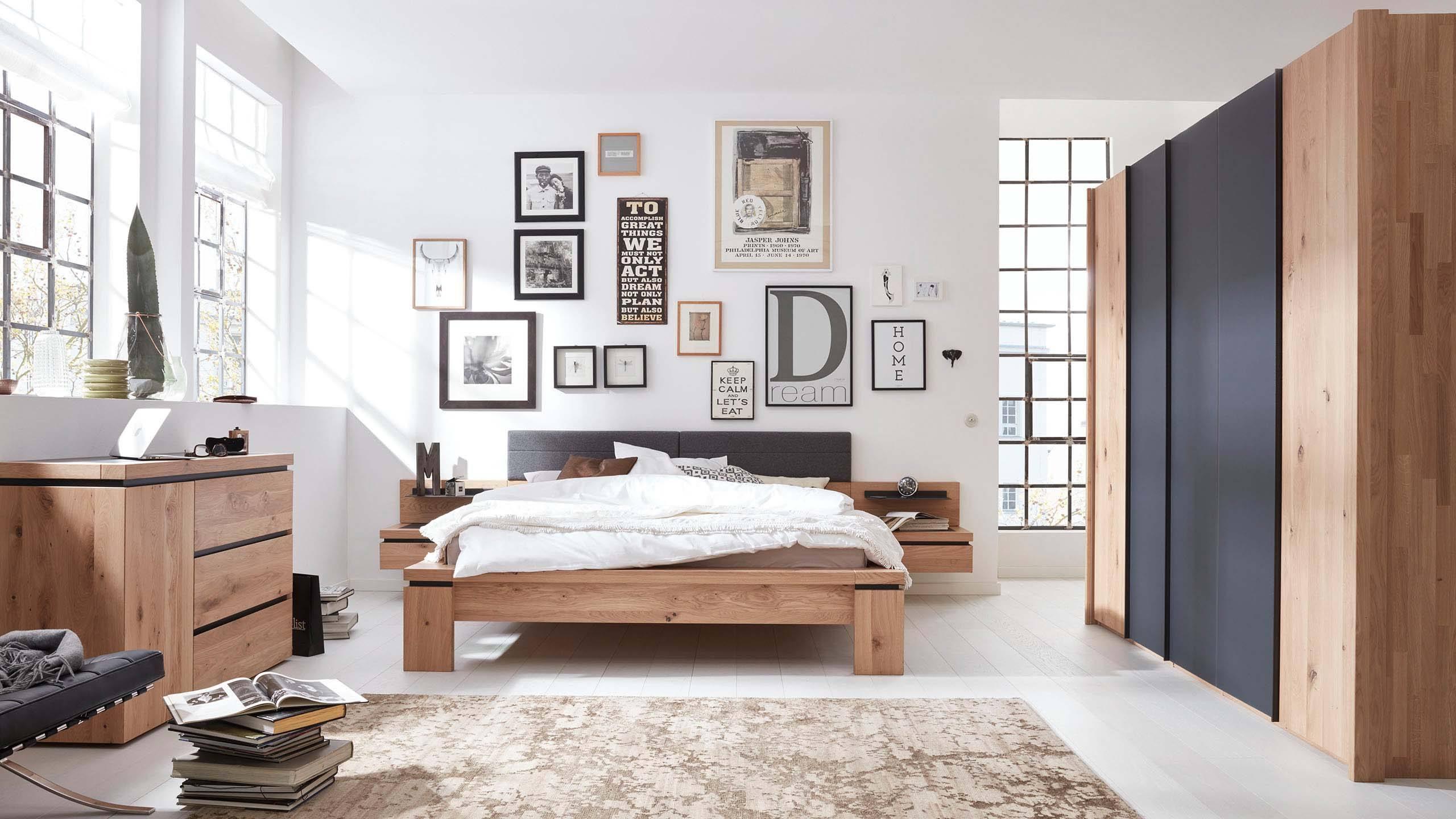 Interliving Schlafzimmer Serie 1005 Bett » Modern & Günstig  Möbel Schaumann