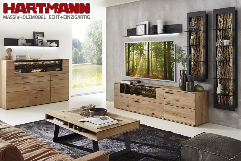 Lowboard Holz Massiv