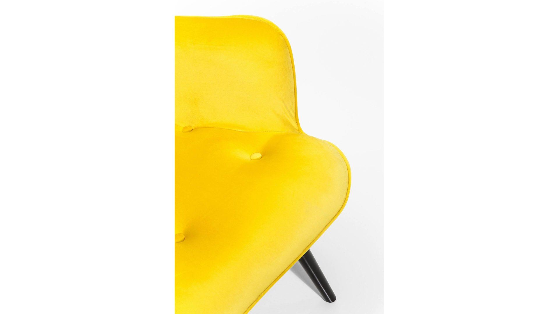 Retro Sessel Gelb Kugel Sessel