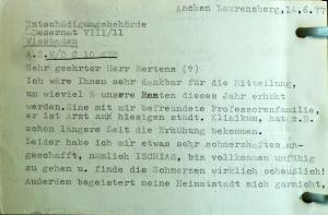 Lilly Baruch, Ludwig Baruch, Judenhaus Hallgarter St. 6 Wiesbaden, Irene Baruch