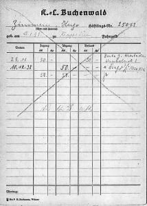 Hugo Zimmer, Bertha Zimmern, Bertha Feibel, Judenhaus Wiesbaden, Hermannstr. 26