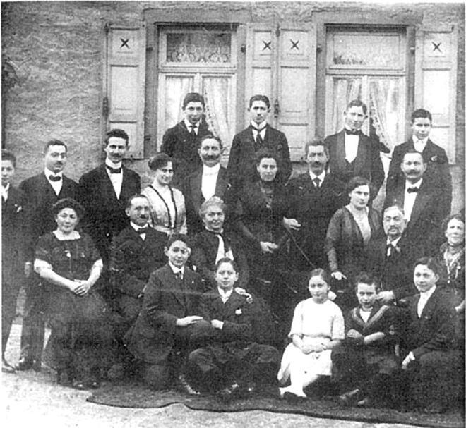 Abraham Wolf,Benjamin Wolf, Rebekka Schuster, Ernst Siegmund Wolf, Frieda Hilda Wolf, Inge Wolf, Ockenheim, Judenhaus Wiesbaden, Hermannstr. 26