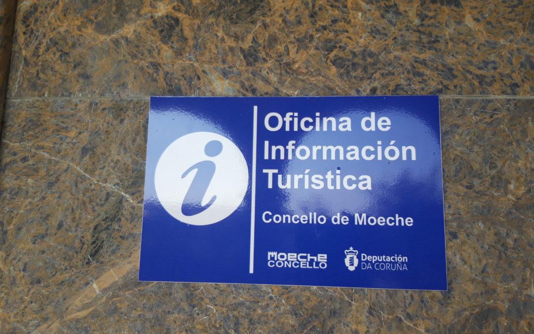 Abre a Oficina de Turismo de Moeche de martes a domingo