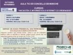 Cursos de Iniciación á informática e Internet co ordenador