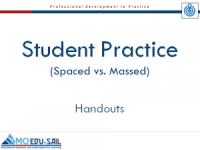 Student Practice Handout Slide