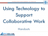 Using Tech for CW Handouts Slide