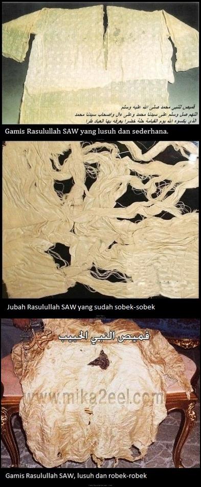 Fotofoto Eksklusif Peninggalan Rasulullah SAW