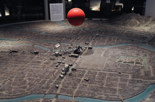 the red ball is supposedly the bomb