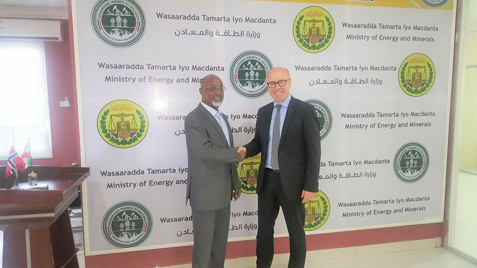 Somaliland: Energy Minister, Norway Diplomat Confer