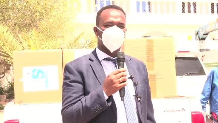 Somaliland Ministry of Energy hands over medical kits donated by the RAK Gas LLC to the Health Ministry