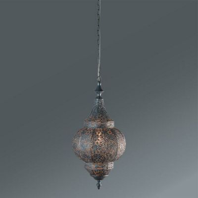 Hängeleuchte Orient in Silber, ca. 40 Watt online kaufen mömax