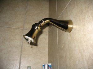 fixing a leaking shower head moen