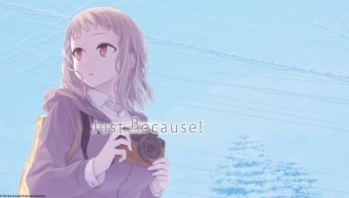 Just Because anime blu-ray menu screen