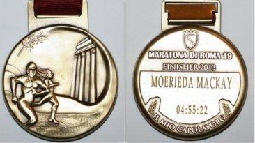 Rome Marathon Medal