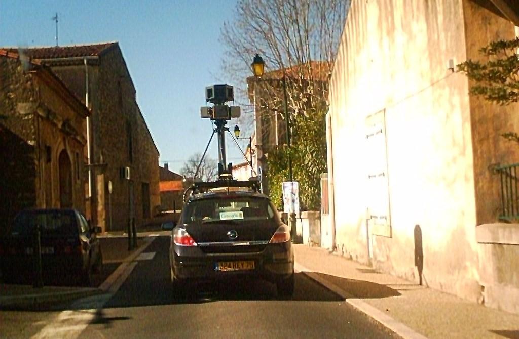 Google street view in Cessenon sur Orb