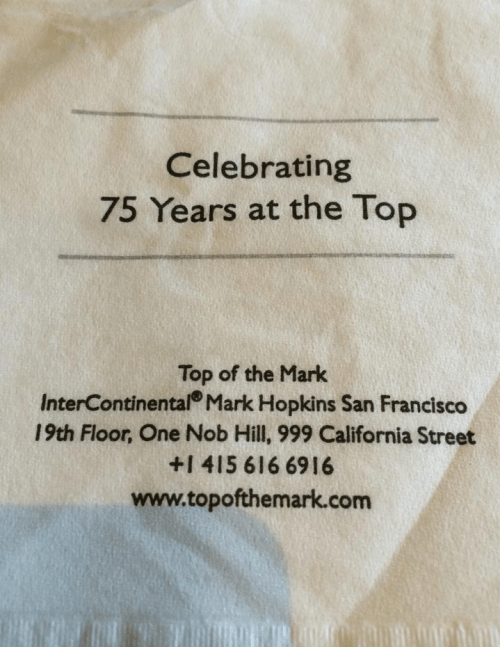 top-of-the-mark