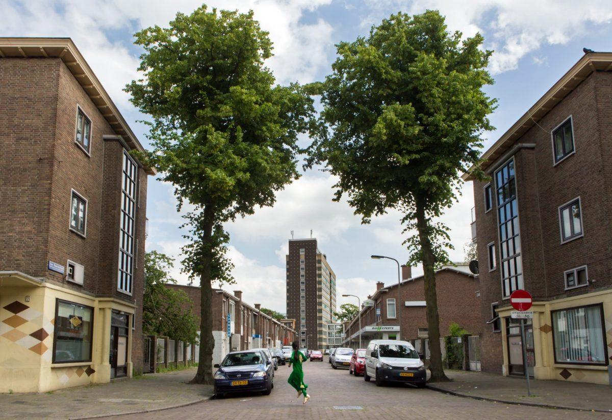 Van Baerlestraat in Moerwijk Den Haag foto 1