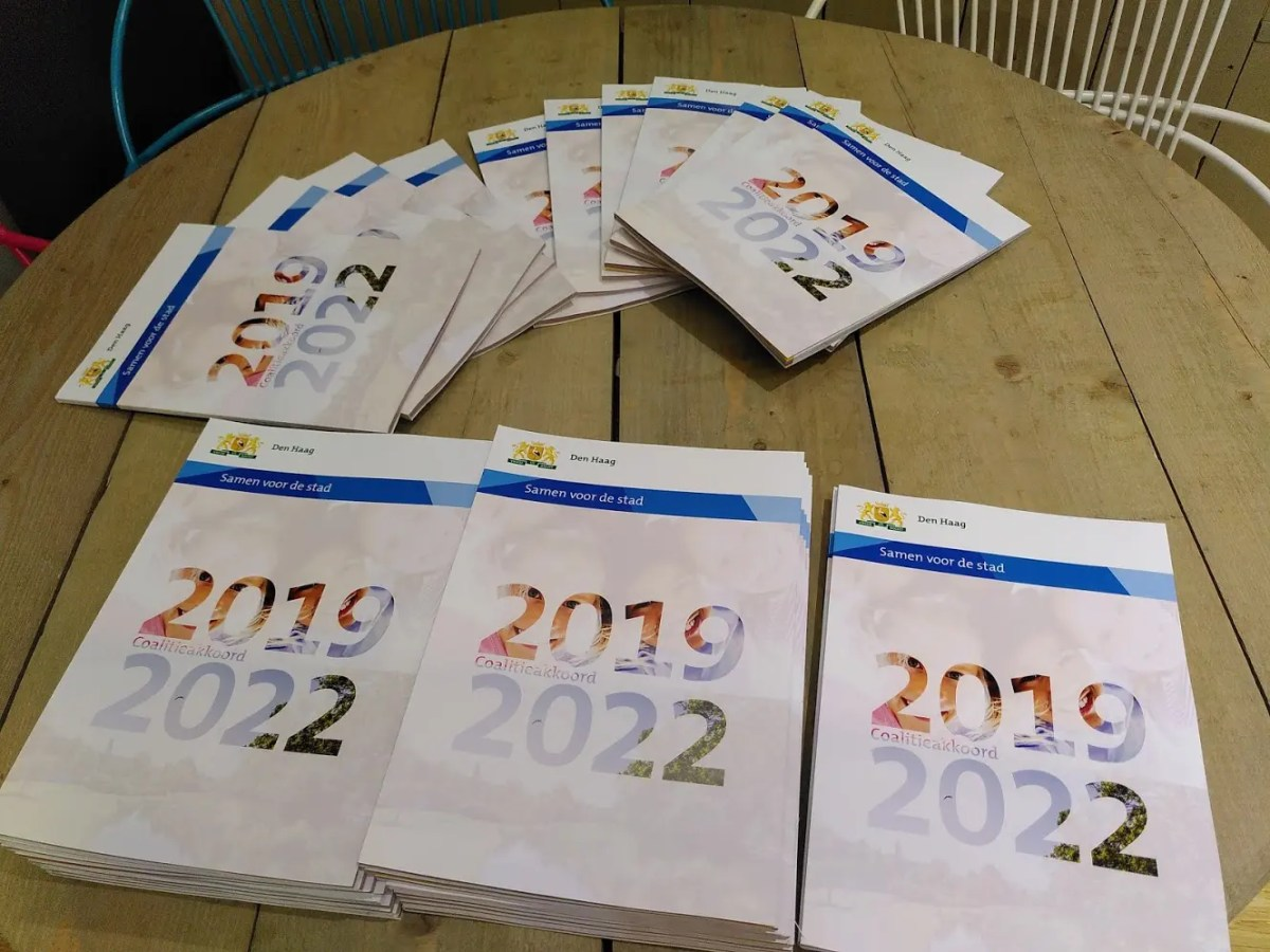 'Samen voor de stad' Coalitieakkoord 2020