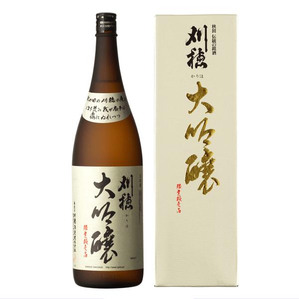 刈穂 大吟醸 1800ml