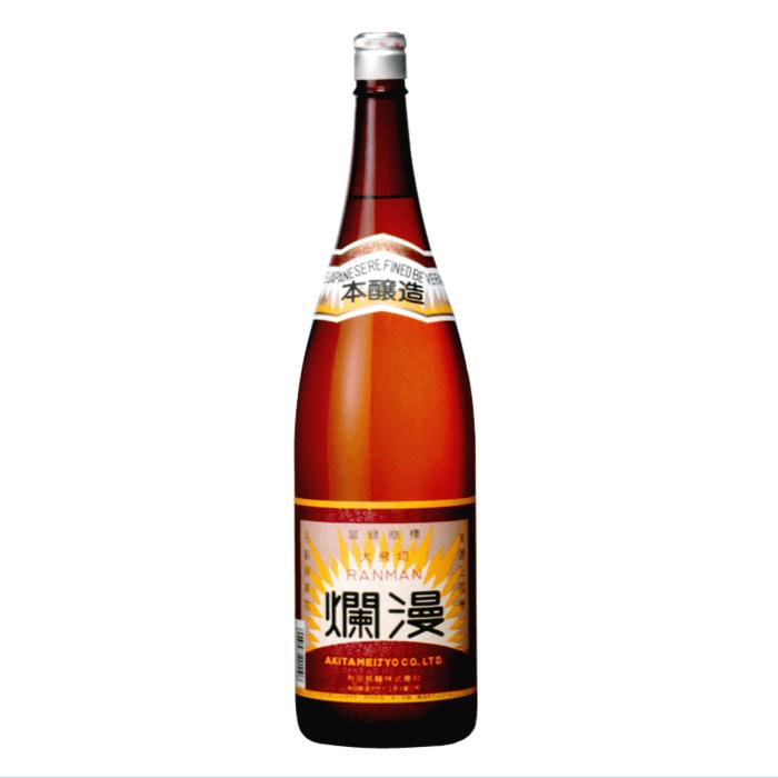 爛漫 本醸造 1800ml