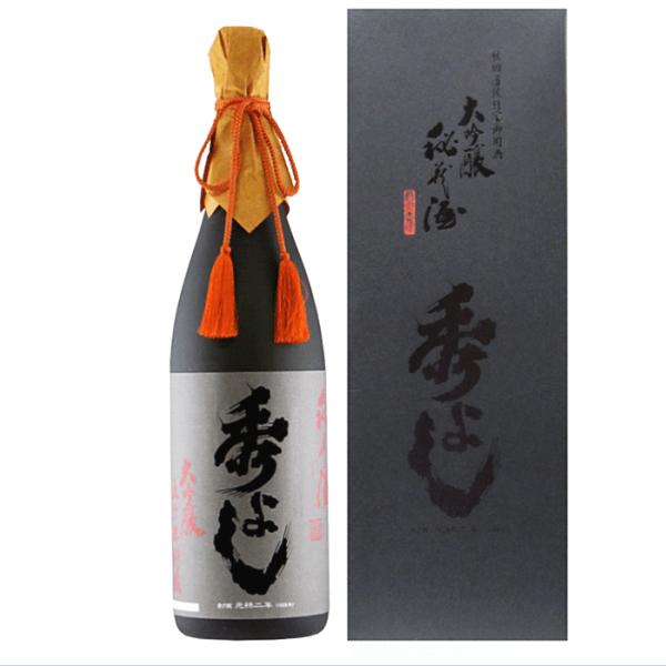 秀よし 大吟醸 秘蔵酒 1800ml