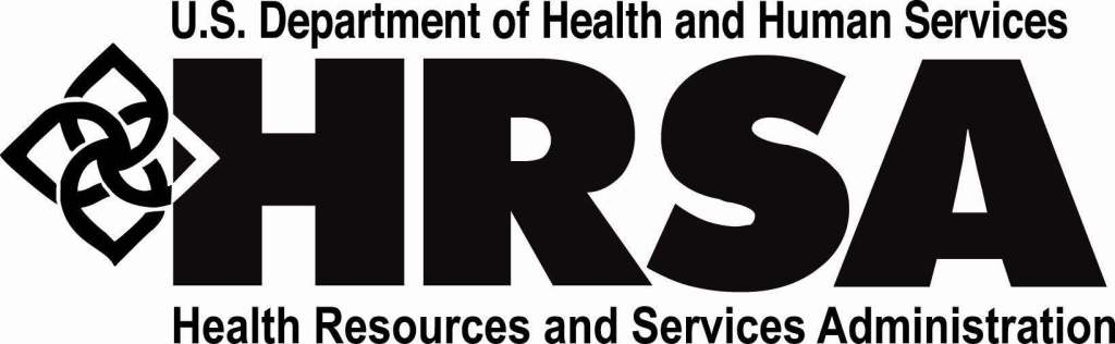 Logo: Health Resources and Services Administration (HRSA) of the U.S. Department of Health and Human Services (HHS)