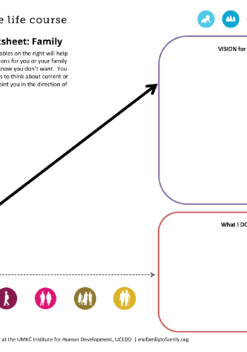 Graphic: Life Trajectory Worksheet