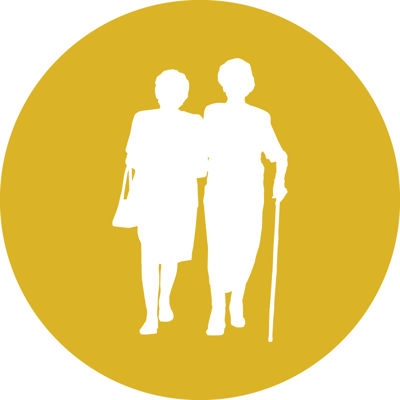 Graphic: Aging LifeCourse icon
