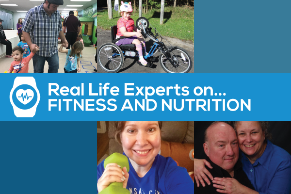 Graphic: Real Life Experts on Fitness & Nutrition Roundup - photo collage