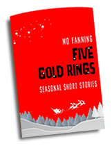 Five gold rings by Mo Fanning