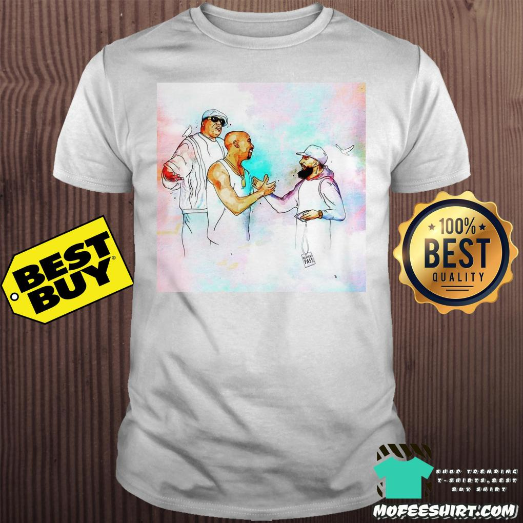 2pac feat nipsey hussle and b i g in heaven unisex - 2Pac feat Nipsey Hussle and B I G in heaven shirt