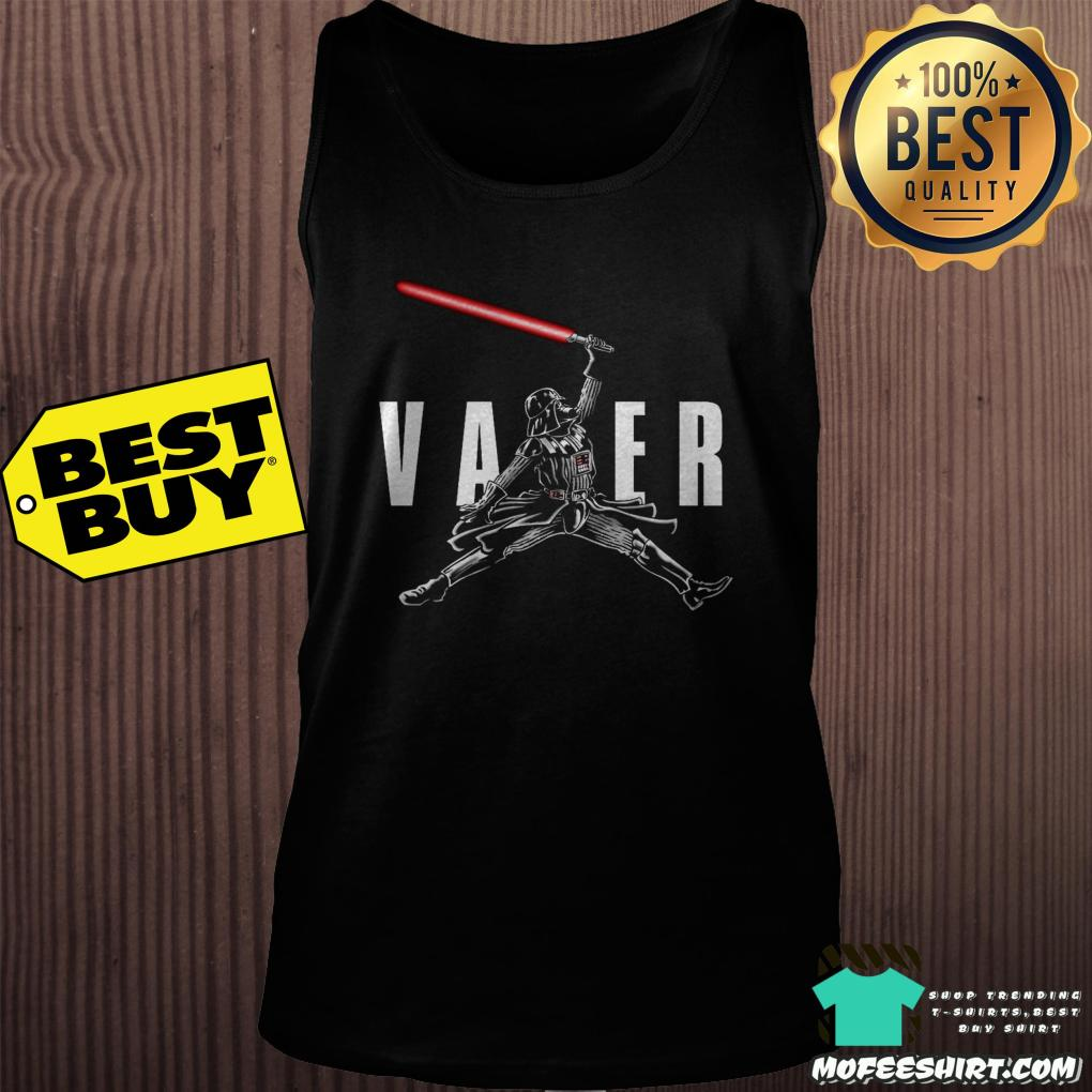 "air vader darth vader star war tank top - ""Air Vader"" - Darth Vader Star War shirt"