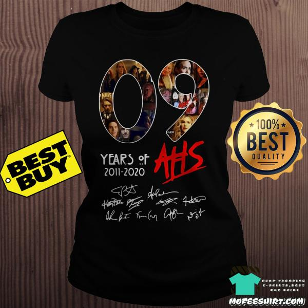 09 Years Of AHS 2011-2020 Signatures shirt