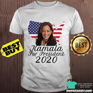 Kamala Harris For President USA 2020 America Flag shirt