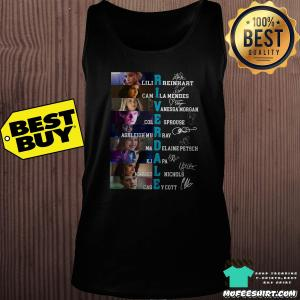 Riverdale Characters Lili Reinhart Camila Mendes Cole Sprouse Ashleigh Murray Signature Shirt