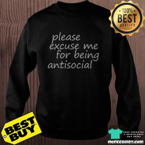 Roddy Ricch Caps 2019 Please Excuse Me for Being Antisocial Shirt Sweater