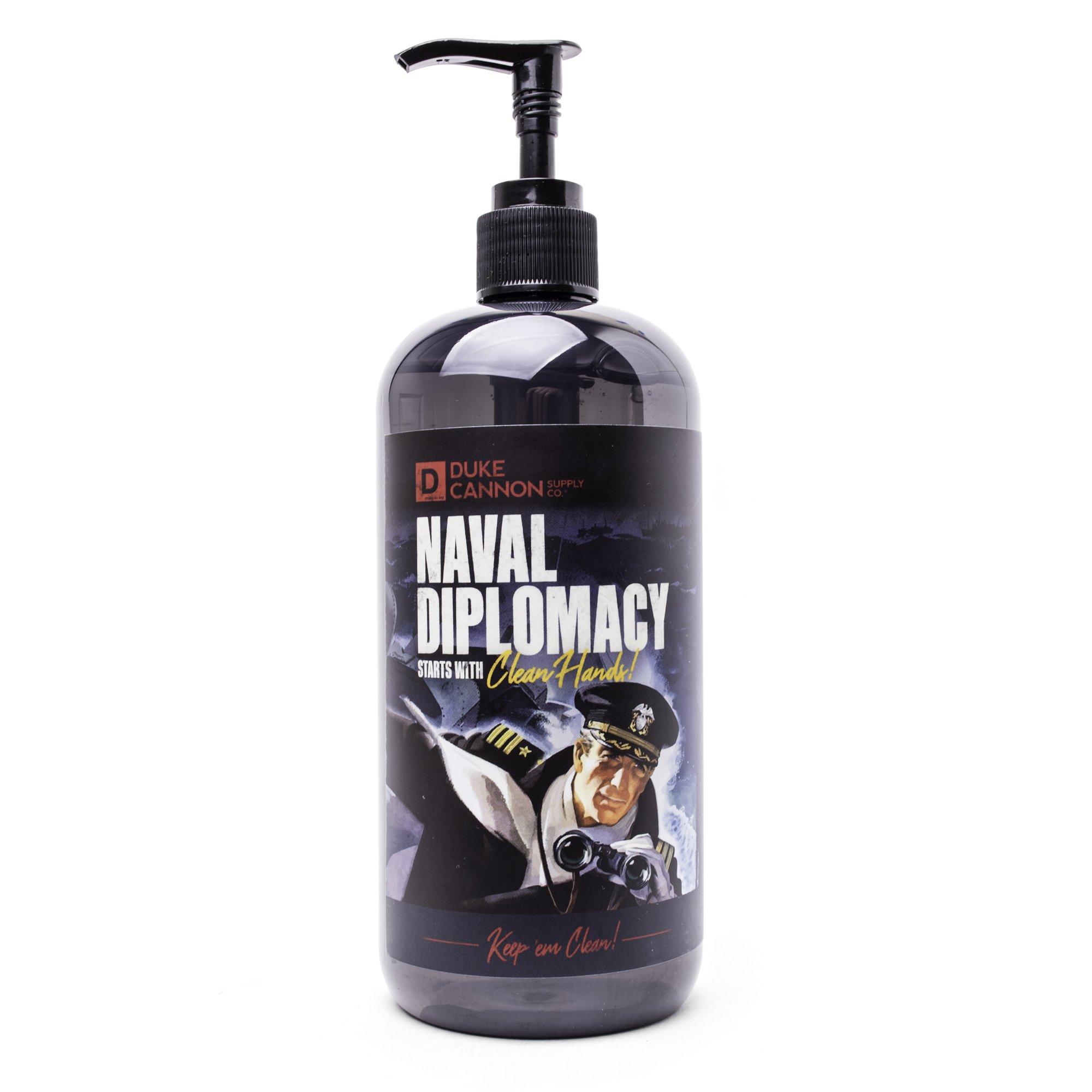 Liquid Hand Soap-Naval Diplomacy
