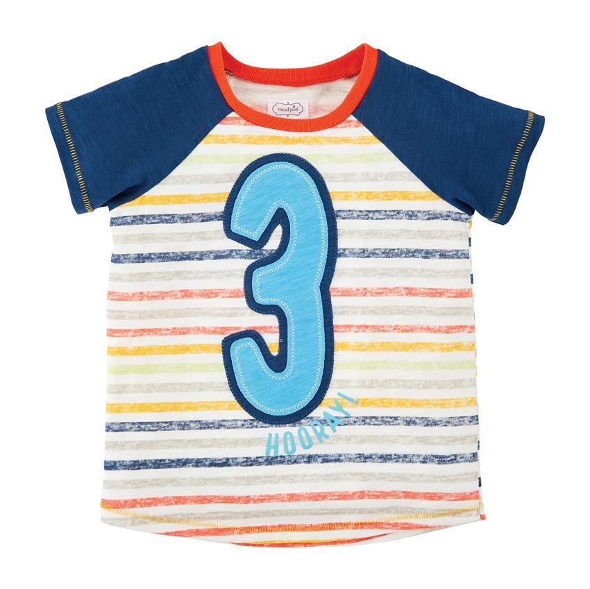 Birthday Shirt-Boy Three