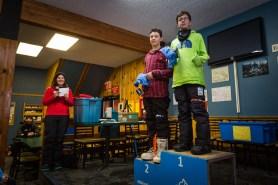 Kinky Rail Jam- Fernie Alpine Resort - 10 January 2015, In the Men's 15 & Under Snowboard: 1st Skyler Hatt, 2nd Jordan Webber